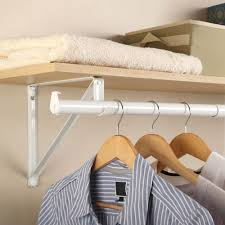 perfect home essentials closet rod installation roselawnlutheran