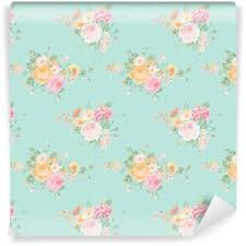 Shabby Chic Wallpapers by Vintage Flowers Background Seamless Floral Shabby Chic Pattern