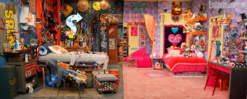 good luck charlie bedroom match the tv show character to their fictional bedroom m magazine