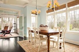 most popular kitchen paint colors dining room traditional with rug