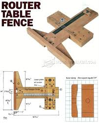 precision router table fence plans router tips jigs and