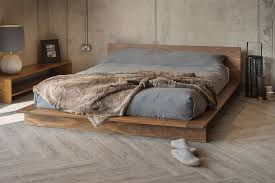 Solid Wood Platform Bed Plans by Best 25 Low Platform Bed Ideas On Pinterest Low Bed Frame Low
