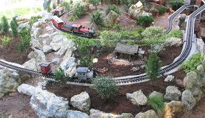 development of the sandflea and redbud garden railway