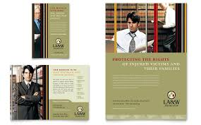 law firm brochure template lawyer law firm flyer ad template word