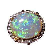 blue opal engagement rings opal engagement rings flashopal