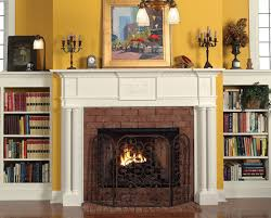 Electric Fireplace With Mantel Revitalize Your Fireplace With An Electric Fireplace Insert