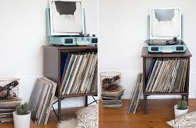 record player table ikea ikea hack record player stand nouvelle daily record player