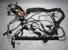 bmw e39 1998 528i 5 spd manual engine wiring harness complete m52