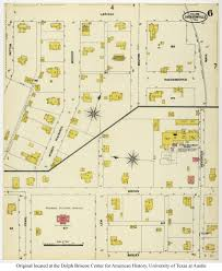 Jacksonville Map Sanborn Maps Of Texas Perry Castañeda Map Collection Ut