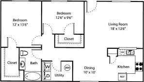 floor plan for two bedroom apartment beautiful two bedroom apartment floor plans pictures liltigertoo