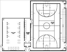 basketball gym floor plans facility kentridge auxiliary gym plan