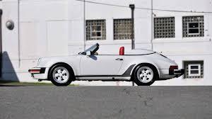 1989 porsche speedster for sale 1989 porsche 911 speedster s151 monterey 2014