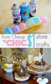 cheap easter eggs from cheap to chic easter decor easter crafts kids chocolate