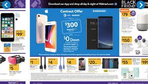walmart cooks up iphone x and note 8 black friday deals pocketnow