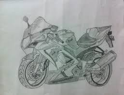 bikes 4 best drawing techniques to make pencil shading bike sketch