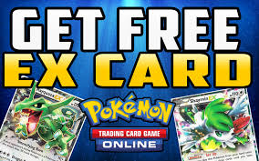 how to get a free ex card in pokemon tcg online youtube