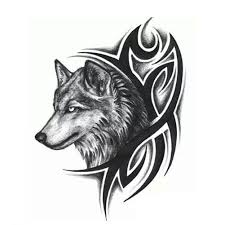 temporary wolf tattoo wolf tattoos wolf and tattoo
