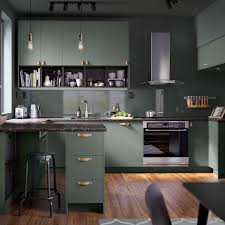 ikea grey green kitchen cabinets ikea usa on instagram give your kitchen a gray green