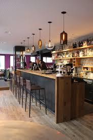 niche modern contemporary bar lights at gass 17 restaurant