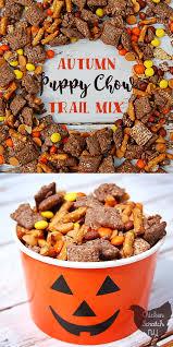 autumn puppy chow trail mix chicken scratch ny