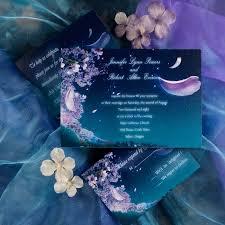 sle wedding invitations fancy fairytale floral blue wedding invitations ewi044 as