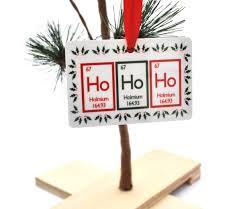 ho ho ho periodic table christmas ornament u2013 neurons not included