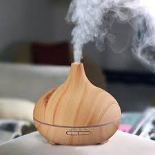 Best Humidifier For Kids Room by 300ml Essential Oil Diffuser Wood Grain Ultrasonic Aroma Cool