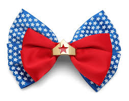 hair bow tie woman hair bow thinkgeek