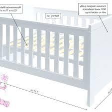 Crib Size Mattress Dimensions Crib Mattress Dimensions Size In Cm Uk On Me 3 Portable