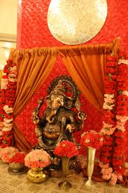 Indian Engagement Decoration Ideas Home by 264 Best Decoration For Pooja Images On Pinterest Ganesha