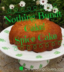 nothing bundt cake spice cake kristi clover