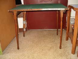 Folding Wood Card Table Stylish Folding Wood Card Table Items Similar To Antique Oak Card