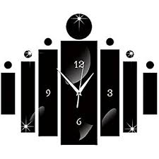 wall clocks amazon com happy hours creative wall clocks home diy