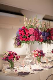 Purple Centerpieces Wedding Wednesday A Museum Romance Part Two Beautiful Blooms
