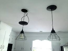 how to convert a pendant light to a recessed light how to convert can light to pendant for pendant lights square