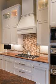 white backsplash tile for minimalist and contemporary kitchens