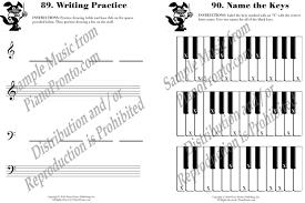 piano pronto theory workbook inventory clearance hardcopy