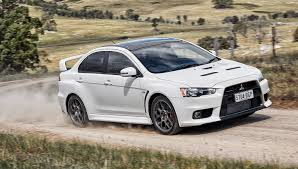 mitsubishi lancer evolution 2015 mitsubishi lancer evolution final edition hits australia a