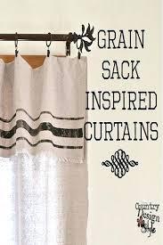 Feed Sack Curtains Grain Sack Curtains Grain Feed Sack Shower Curtain Cjphotography Me