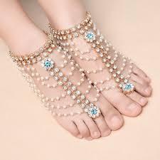 fashion ankle bracelet images Fashion ankle bracelet wedding barefoot sandals beach foot jewelry jpg