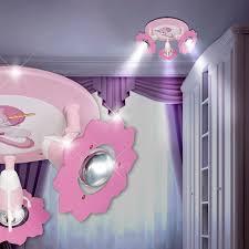 spot chambre enfant licorne projecteur de plafond ø280mm enfant pâle le