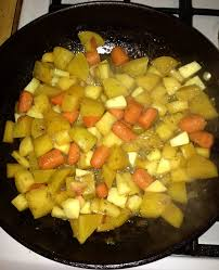 Glazed Root Vegetables Recipe - cook u0027s country cider glazed root vegetables onedadskitchen