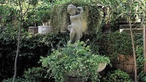 great garden fountain ideas sunset