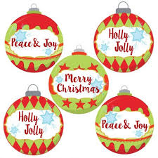 ornament stickers for holidays gift wrapping seal labels