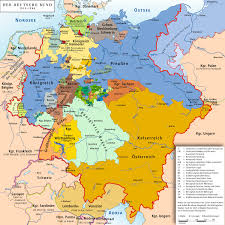 Cold War Germany Map List Of Historic States Of Germany Wikiwand