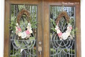 Spring Wreath Ideas Note Songs Front Door Spring Wreaths
