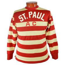 st paul athletic club 1925 hockey sweater ebbets field flannels