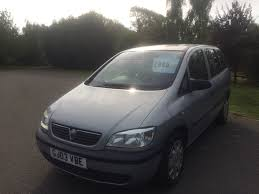 used vauxhall zafira club manual cars for sale motors co uk