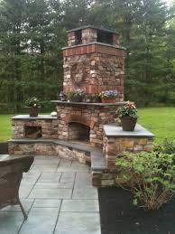 outdoor fireplace doylestown pa landscaping company nj u0026 pa