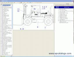 daewoo doosan forklift 2012 spare parts catalog trucks buses
